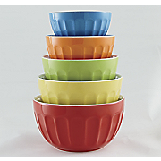 Mixing Bowls Multi Color Set Of 5
