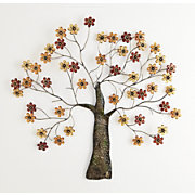 flowering tree wall art