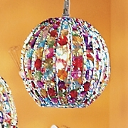 Small Crystal Ball Lamp