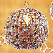 Large Crystal Ball Lamp