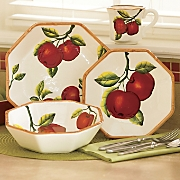 16-Piece Apple Dinnerware Set