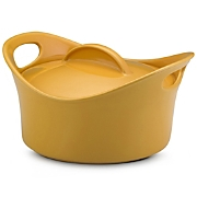 Rachael Ray 2 Qt Yellow Casseround