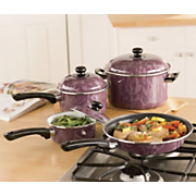 Cookware Swirl 7 Pc Set
