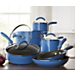10 Pc Kitchen Aid Aluminum Cookware Set