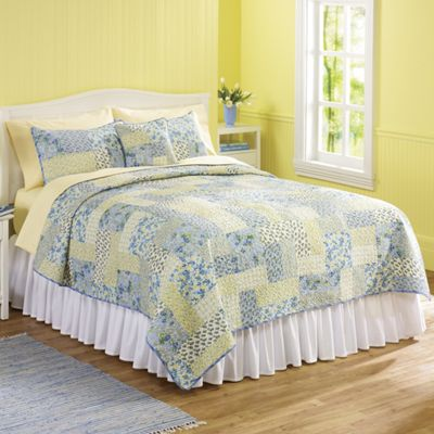 3-Piece Isadora Quilt Set with Free Pillow