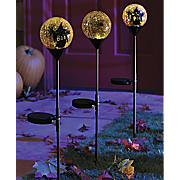 Halloween Solar Gazing Ball