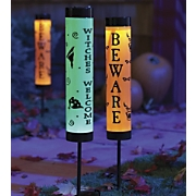 Halloween Solar Tube Light