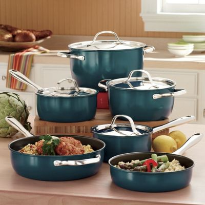 Ginnys Brand 10 pc Commercial Cookware Set