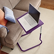 purple laptop desk
