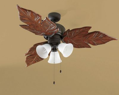 3 Light Palm Fan