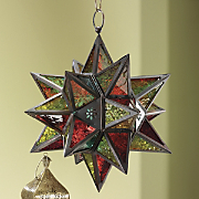 Candle Lantern, Star Shaped