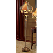 Victorian Beaded Floor Lamp
