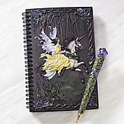 Journal With Pen Fairy