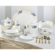 Dinnerware, Shimmering Butterfly 47-Piece Set