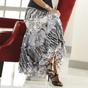 Art Gallery Tiered Skirt