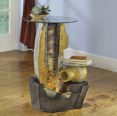 Canyon Fountain Table
