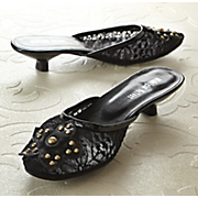 Lace Slipper By Midnight Velvet