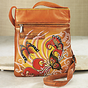 Hand Painted Side Bag