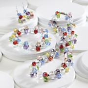 Jewelry Multicolor Crystal Set