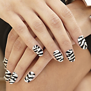 Nail Art Kit, Black Tie