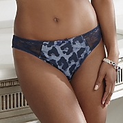 Panty, Denim Leopard