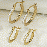 Hoops 2 Pair Set