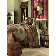 Aramis Comforter Set Pillows and Window Treatments