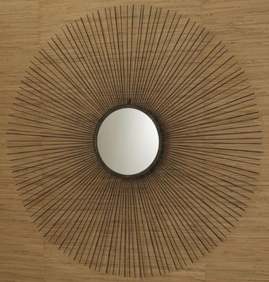 Large Medallion Mirror