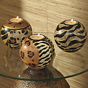 Set Of Animal Candle Orbs