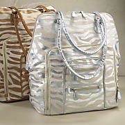 Metallic Zebra Carry on