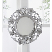Silver Scalloped Mirror