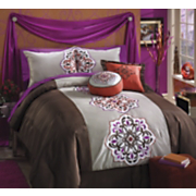 Aveline Comforter Set And Window Treatments