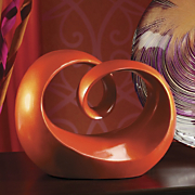 Tango Twisted Orange Sculpture