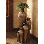 """Paradise"" Tall Jug Fountain Table"