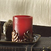 Led Red Candle