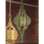 Green Hanging Lamp