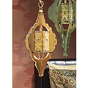 Gold Hanging Lamp
