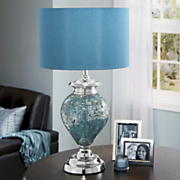 Maren Crackle glass Lamp