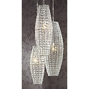 Faux Crystal Lamps