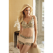 leopard lace bra and panty