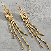 Cascade Knot Earrings