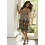 Plus-Size BoHo Dress