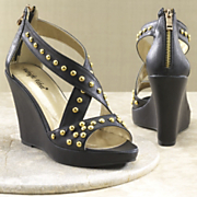 Studded Platform By Midnight Velvet