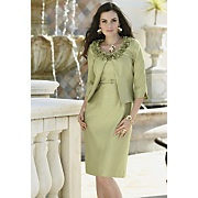garden beauty jacket dress
