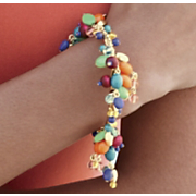 calypso bead drop bangle