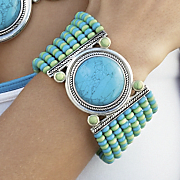 caribbean colors bracelet