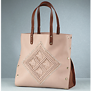 woven diamond bag