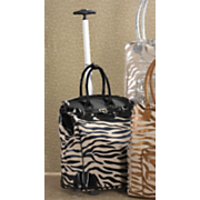 metallic zebra rollbag