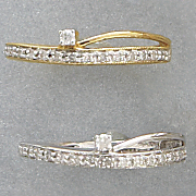 10K Gold Diamond Band