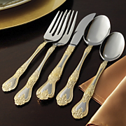 45 Piece Princess Flatware Set